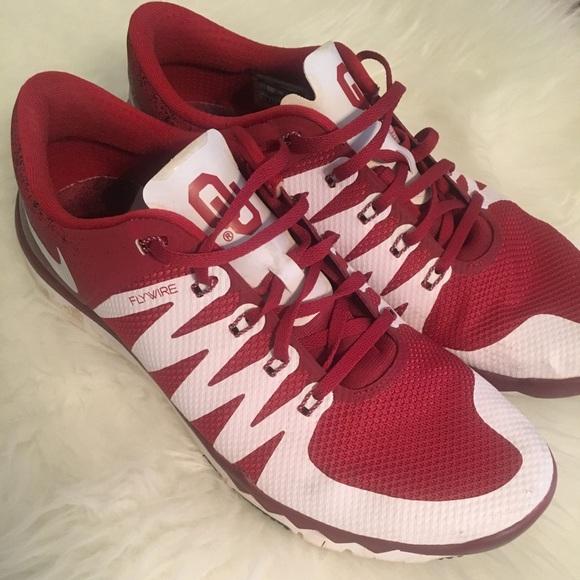 889393458 University of Oklahoma men s Nikes 12. M 5b1ec9bc534ef982b0622ab0